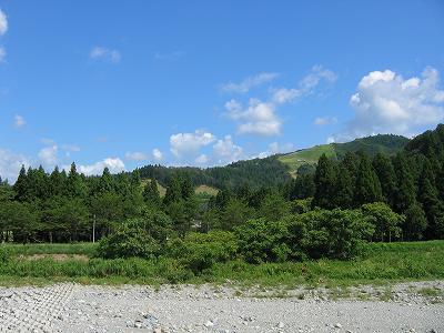 昨日までに比べるとずいぶん過ごしやすくなりました@魚沼産コシヒカリの田んぼ
