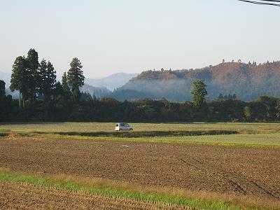 今日もいい天気@魚沼産コシヒカリの田んぼ