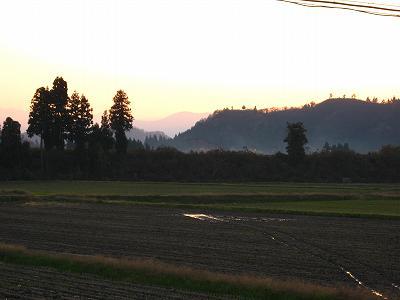 今日もまたいい天気でした@魚沼産コシヒカリの田んぼ