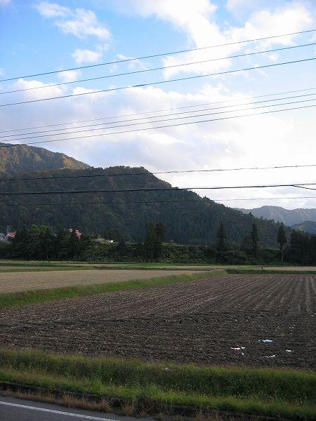午後になってから青空が見えてきました@新潟県南魚沼市