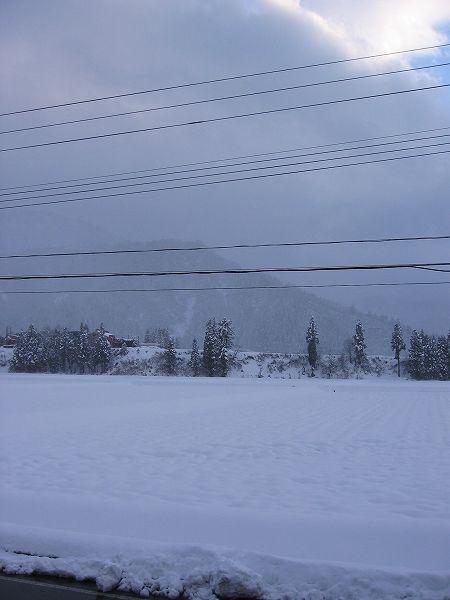新潟県南魚沼市はすっかり冬景色になりました