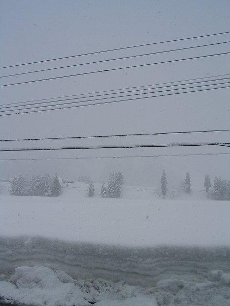 2月下旬に南魚沼市は大雪になりました