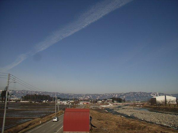 寒い朝ですが、今日はいい天気になりそうです