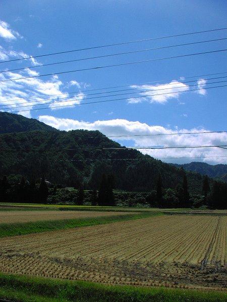 今日も稲刈り作業が続いています - 魚沼産コシヒカリの田んぼ@新潟県南魚沼市