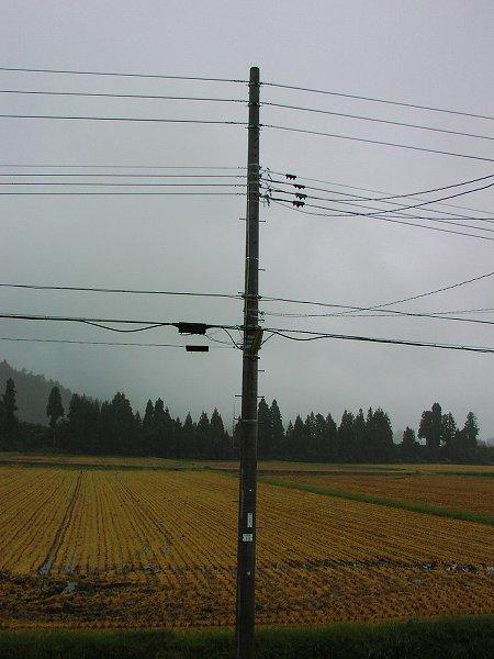今朝は雨・・・稲刈りは一休みです - 魚沼産コシヒカリの田んぼ@新潟県南魚沼市