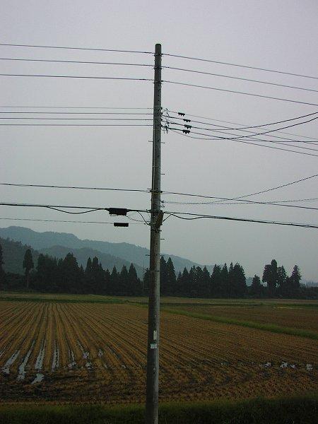 新潟県南魚沼市は雨降りで寒いです