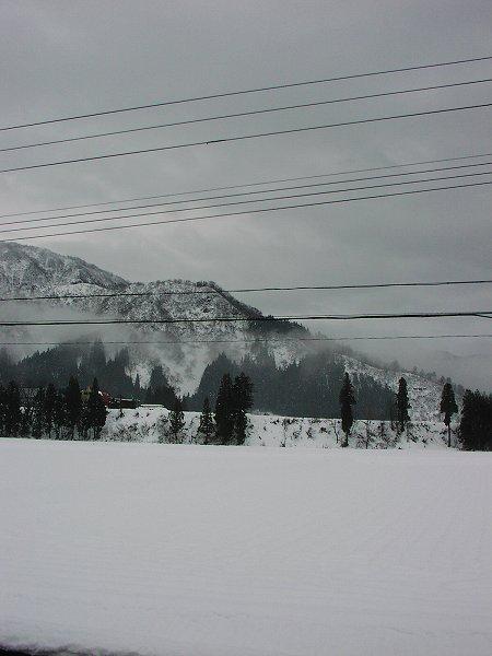昨晩から雪はほとんど降っていません