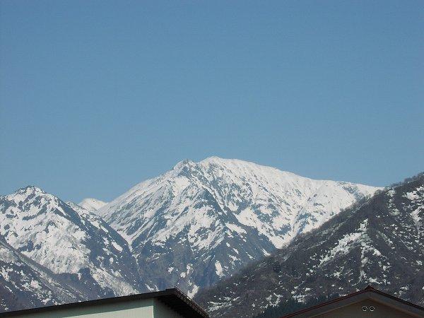 魚沼駒ケ岳では雪解けが進んでいます
