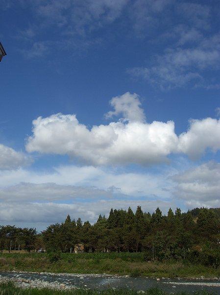 新潟県南魚沼市は秋の陽ざしがあたたかく感じます