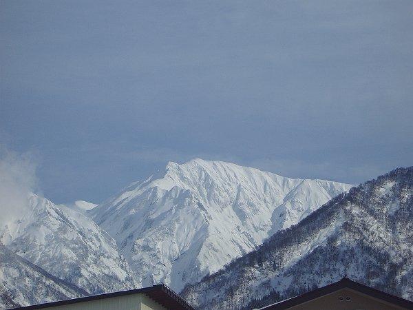 駒ケ岳の雪景色
