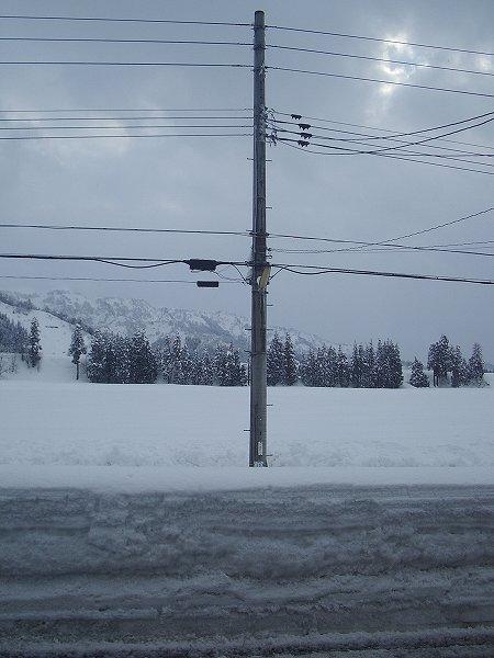 今年の冬は大雪です