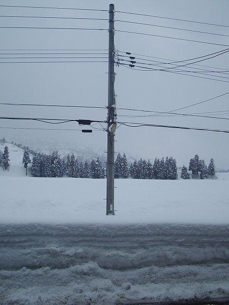 大雪がひと段落したようです