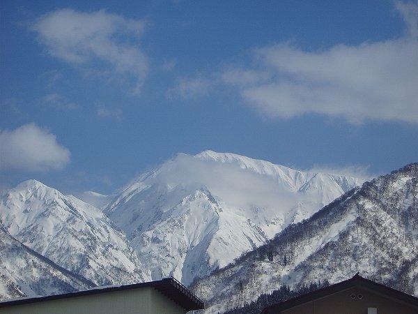魚沼駒ケ岳の雪景色