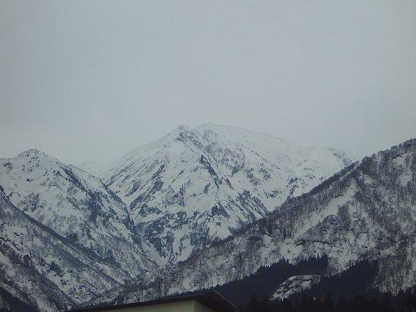 駒ケ岳の雪解け