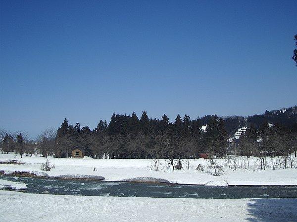 今日の新潟県南魚沼市はあたたかいです