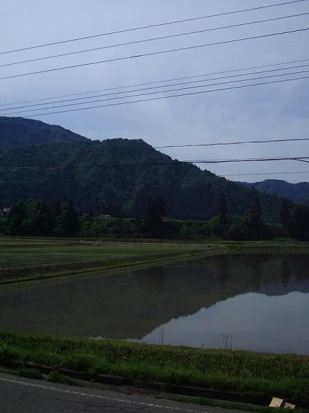 新潟県南魚沼市は涼しくて爽やかな朝です
