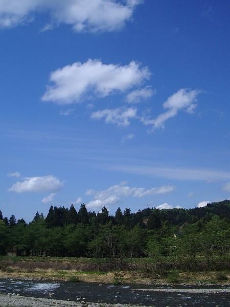 新潟県南魚沼市は午後から晴れてきました