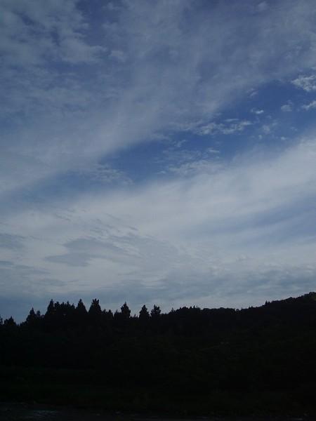 いまのところ、いい天気です