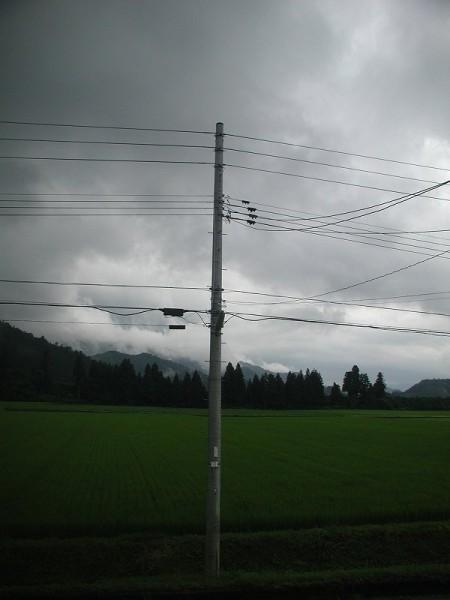 魚沼は今日も梅雨時のような天気です