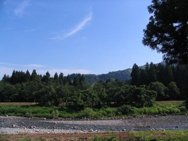 新潟県南魚沼市は今日も朝から暑いです