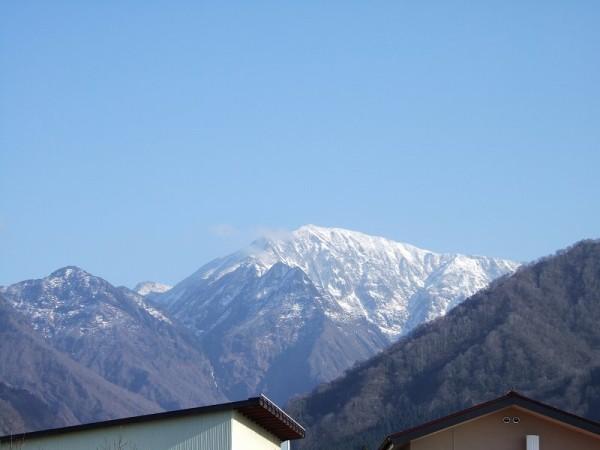 12月の駒ケ岳