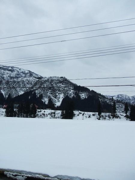 新潟県南魚沼市では冬らしくない天気が続いています