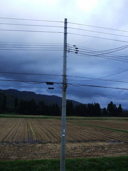 どんよりとした重たい雲に覆われています