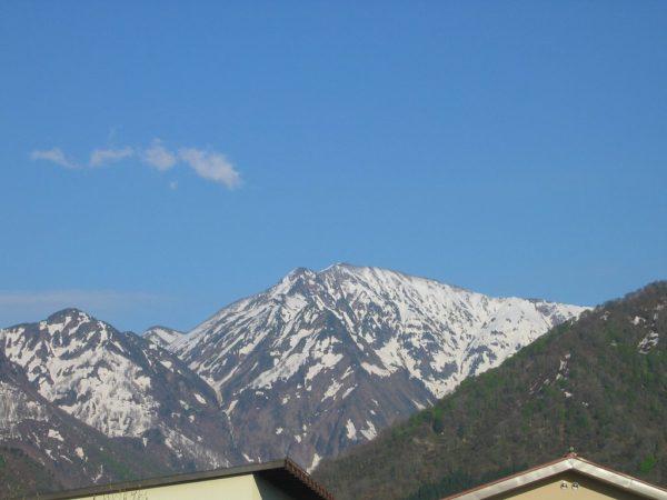 残雪の駒ケ岳
