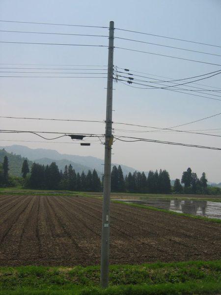 新潟県南魚沼市はいい天気で気温が上がっています